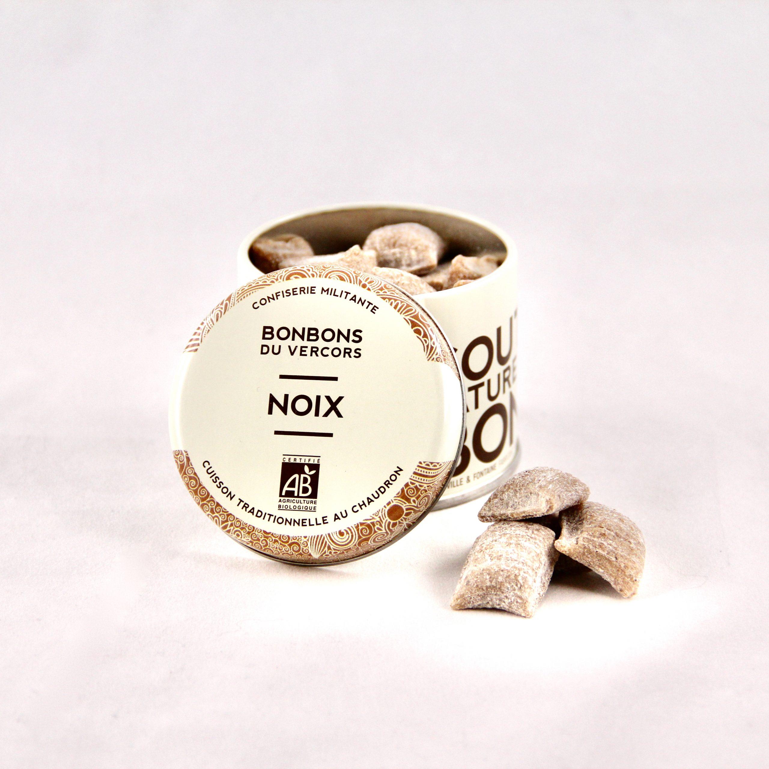 Bonbons Bio aux noix